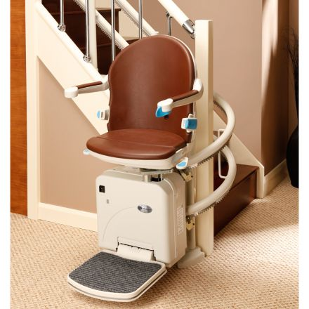 HANDICARE 2000 - Curved twin Rail Stair Lift indoor (UK)