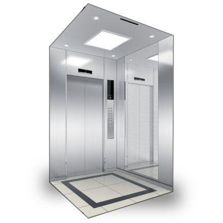 مصعد هيونداي - Luxen بغرفة ماكينات (الصين)